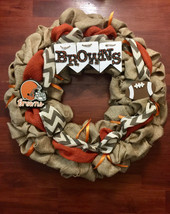 Cleveland Browns Wreath- any football or sports... - $50.00