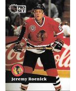 Jeremy Roenick ~ 1991-92 Pro Set #40 ~ Blackhawks - $0.05