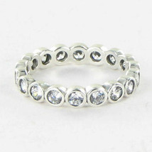 Pandora 190942CZ Ring Alluring Brilliant Cubic Zirconia Sterling Sz 7 54... - $55.28