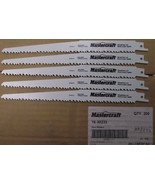 "Mastercraft by Bosch 16-30233 9"" x 6tpi Bi-Metal Recip Saw Blades 5pcs. - $5.69"