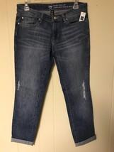 GAP Women's Blue Denim Skinny Roll Up Ankle Length Jeans  Size 4/27R (28 in ) - $22.00