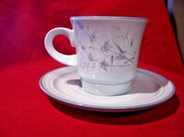 NOritake Stoneware Cup & Saucer Set Woodstock Lot Of 3 - $14.95