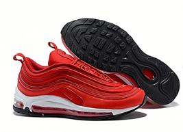 NIKE AIR MAX 97 UL '17 Ultra Man Motion Leisure Time Running Shoes Red - $168.29+