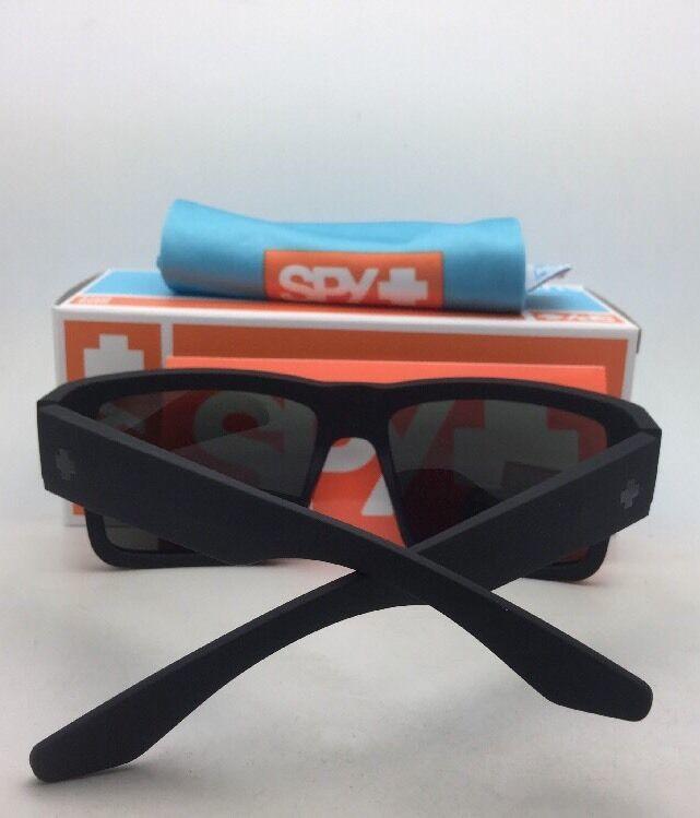 Polarisiert Spy Optic Sonnenbrille Cyrus Weich Matt Schwarz Rahmen W / Happy image 4