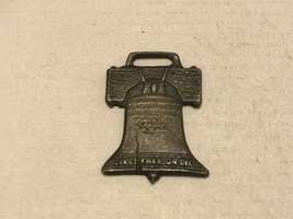 Vintage Watch Fob - Liberty Bell - $30.00