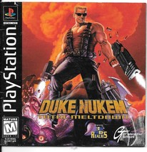 Duke Nukem: Total Meltdown (Sony PlayStation 1, 1997) - $9.00