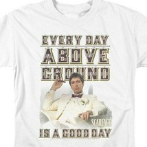 Scarface Gangster 80's Movie Every Day Above Ground Is A Good Day UNI675 image 2