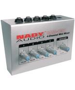 Nady MM-141 4-Channel Mini Mixer - $57.04