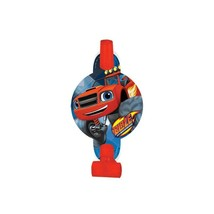 Blaze and The Monster Machines Party Favor Blowouts 8 Ct Birthday Supplies New - $5.89