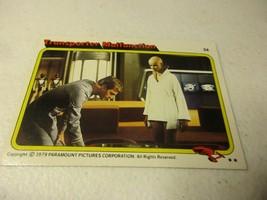 1979 Paramount Star Trek Motion Picture #54 Transporter Malfunction - $1.97
