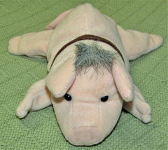 """BABE AND FRIENDS BEAN BAG PIG 7"""" EQUITY TOYS COLLAR NAME TAG STUFFED ANI... - $7.92"""