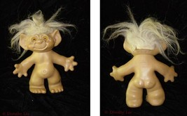 Vintage Troll Doll Figure Cute Wishnik Uneeda Doll - $24.99