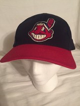 Cleveland Indians Drew Pearson Adjustable Hat Chief Wahoo Baseball Cap MLB. - $12.59