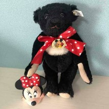 Steiff Teddy bear 1992 Disney World Convention Limited Minnie Rare Used - $1,961.18