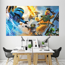 Wall Poster Art Giant Picture Print The Lego Ninjago Movie 2084PB - $27.99