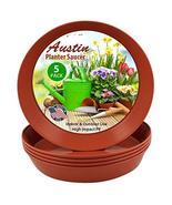 Austin Planter 8 Inch (6.3 Inch Base) Case of 10 Plant Saucers - Terra C... - $16.42