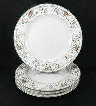"4 Dinner Plates Wade Sone ""Claremont"" Fine Porcelain China Japan 10-3/8"" - $21.77"