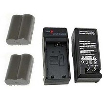 2 Batteries+Charger for Canon Digital Rebel DS6041 Pro90 IS Pro 1 G1 G2 G3 G5 G6 - $26.99