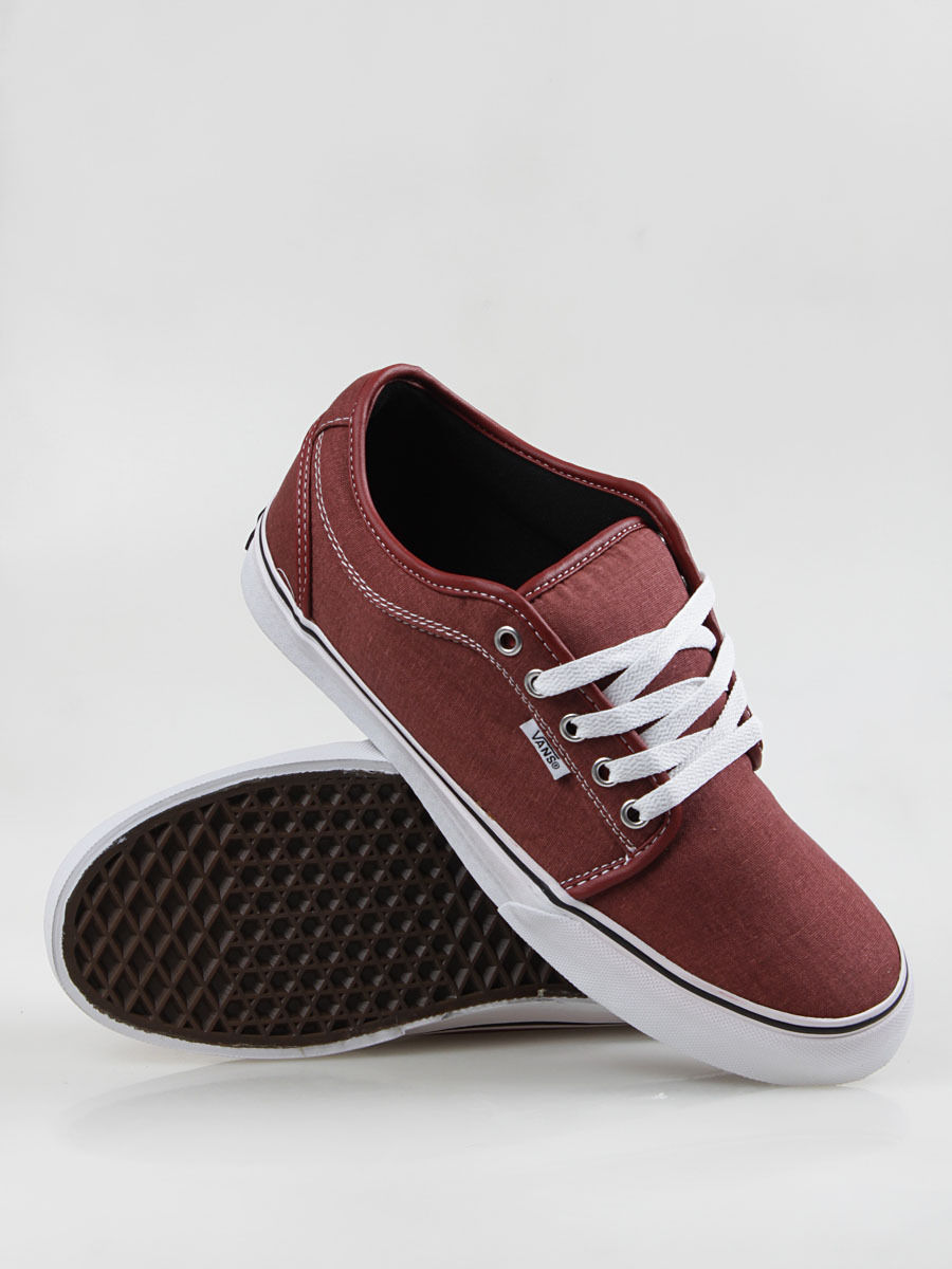 ef3c8c2dfe2 S l1600. S l1600. Previous. VANS CHUKKA LOW RED WASHED CANVAS SZ SIZE MENS  7.5 25.5 CM SHOES WOMENS 9 NEW