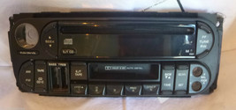 98-01 Dodge Chrysler Jeep Radio CD Cassette Face Plate Replacement P5603... - $8.48