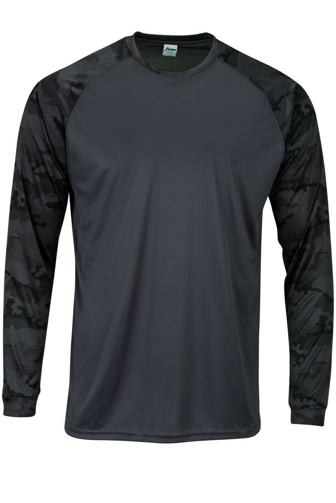 Sun Protection Long Sleeve Dri Fit Graphite Gray sun shirt Camo Sleeve SPF 50+