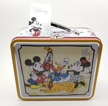 "1930's Micky Mouse and Friends Lunch Box Tote Collector's Tin New 3.75"" ... - $22.08"