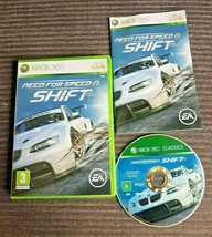Need For Speed Shift  Xbox 360  PAL Racing Game - $5.58