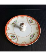 Vintage Noritake Lusterware Candy Dish Single Center Knob Handle Made in... - $24.99