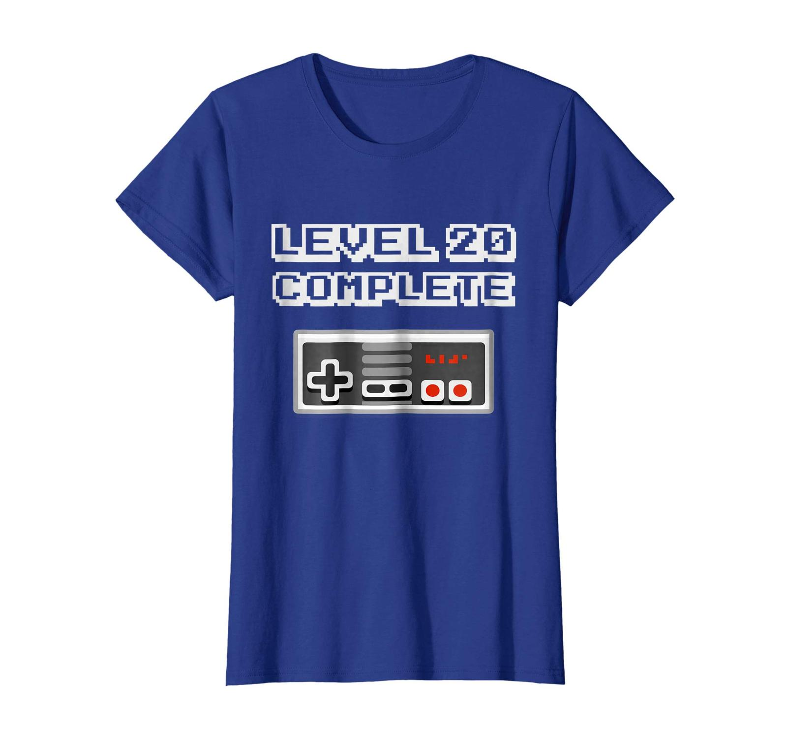 New Shirts - Level 20 Complete Retro Video Gamer 20th Birthday Gift Shirt Wowen image 3