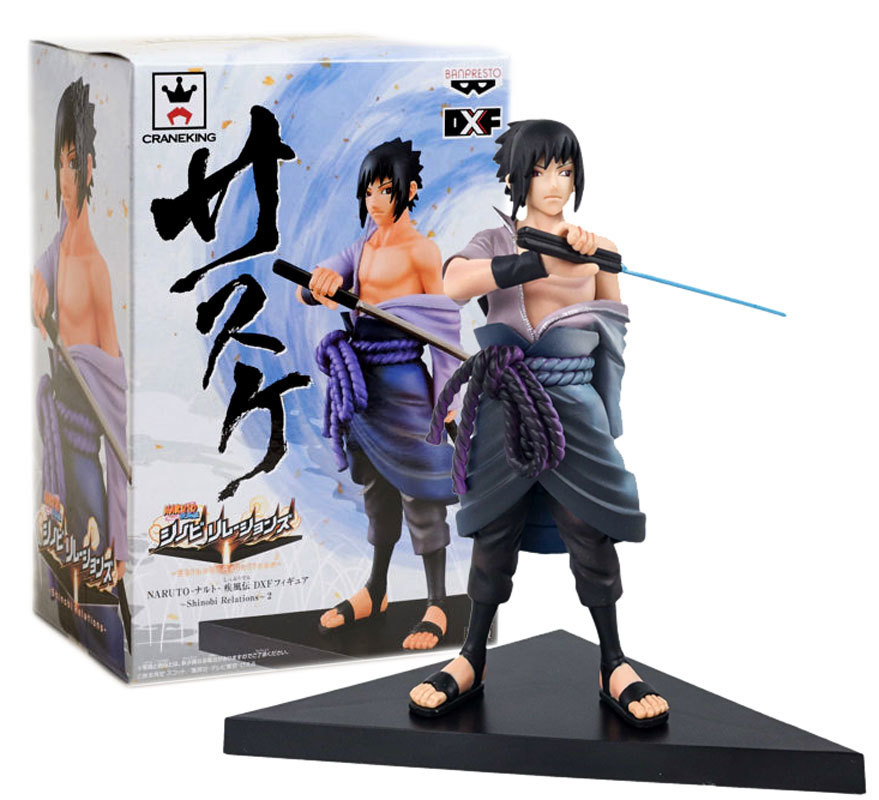 Loot Anime Crate Naruto 'Sasuke' Banpresto Brand New Figure