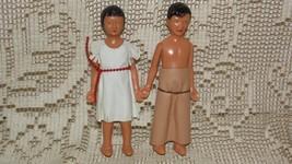 VINTAGE 50'S INDIAN GIRL AND WESTERN COWBOY/IND... - $9.89