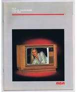 ORIGINAL Vintage 1985 RCA Television TV Catalog - $18.51