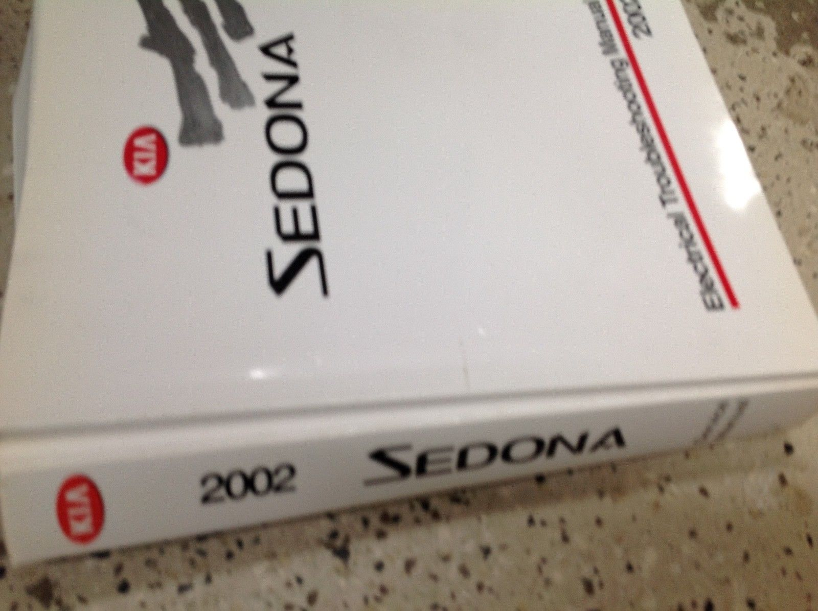... 2002 KIA Sedona Service Repair Shop Workshop Manual Factory OEM Set W  ETM