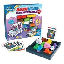ThinkFun Rush Hour Junior Traffic Jam Logic Game and (Rush Hour|Rush Hour Jr) - $30.45
