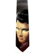 Ralph Marlin Elvis Presley Men's Necktie Guitar Music Name Signature Nec... - $34.65
