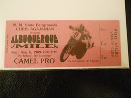 1989 Motorcross Ticket Stub (SKU1) - $9.49