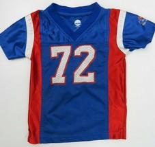 Kansas Jayhawks Blue Football Jersey Toddler Size 3T - $13.85