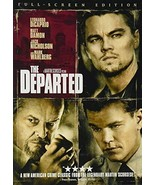 THE DEPARTED FULL SCREEN (DVD) #I-31 C - $5.96