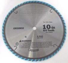 Craftsman 35976 10 x 60T & 10 x 18 T Carbide Saw Blade 2 Blades - $21.78
