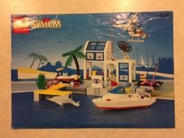 Vintage Lego Instruction Manual For Set # 6338 Coast Guard Pier Rescue 1995 - $9.99