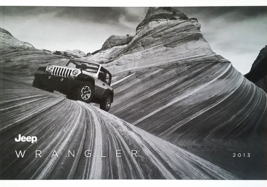2013 Jeep WRANGLER brochure catalog US 13 Unlimited Sahara Rubicon Moab - $12.00