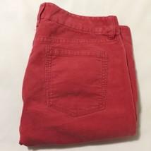 J.Crew Dark Pink Womens Bootcut Corduroy Pants Sz 8R - $22.76