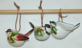 Painted Bird 37300 Joy Hope Love 3 Set Christmas Ornaments image 1