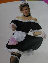 Roll play Naughty French Upstairs Maid Costume~ Dress Up, Sexy Adult, Ma... - $24.95