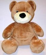 """BUILD A BEAR ALLERGY ASTHMA FRIENDLY VELVET HUGS BROWN TEDDY 14"""" PLUSH D... - $11.99"""
