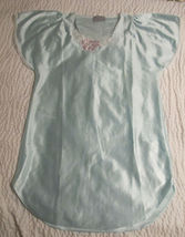 EUC Gloria Vanderbilt Polyester Night Gown Nighty Pajamas Size S Made in... - $32.99