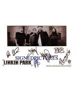 LINKIN PARK GROUP BAND SIGNED AUTOGRAPHED RP PHOTO - $18.99