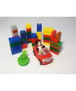 Disney Mickey Mouse Clubhouse Race Car Driver Nascar Mini Figure Mega B... - $8.99