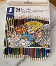 Staedtler Noris Colour Colored Pencils 24 pc 185 C24LU - $14.85