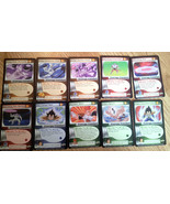 NICE Dragonball Z CCG DBZ Frieza Saga cards lot singles set #1 - 10 vege... - $1.96
